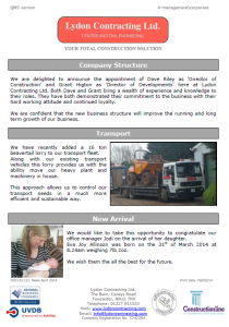 LCL Newsletter Issue 4